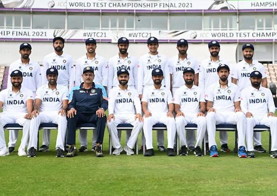 Indian Squad ahead of WTC Final