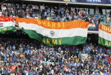 Bharat Army always up to cheer for The Indian Team