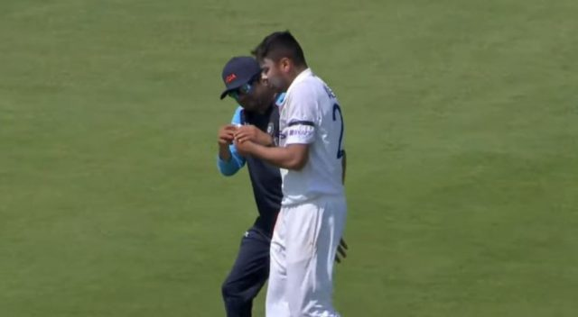 Avesh Khan injured
