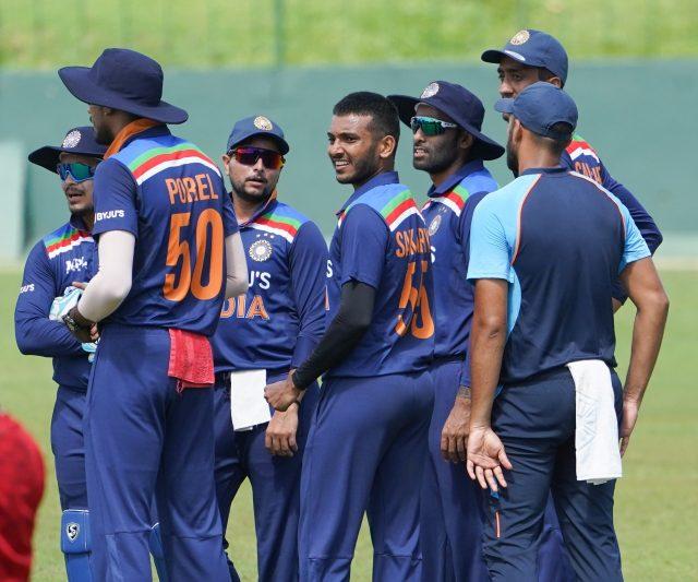 India vs Sri Lanka Venkatapathy Raju