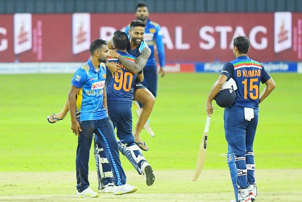 Team India Sri Lanka Colombo