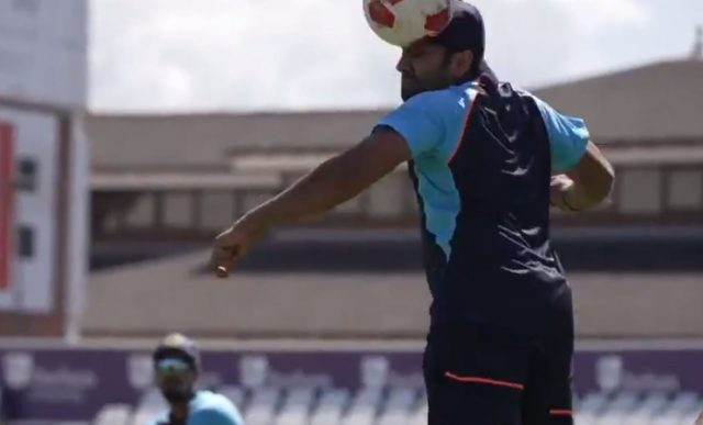 Team India during training sessions