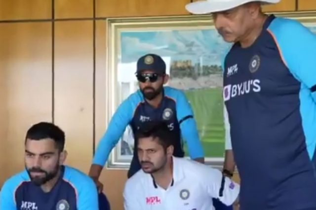 Virat Kohli, Shardul Thakur Team India
