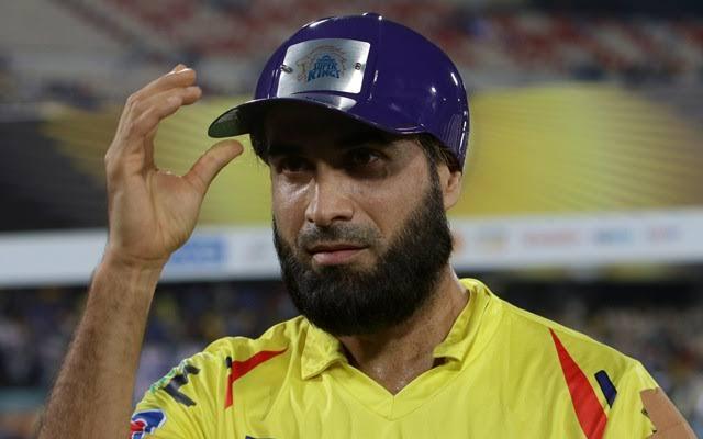 Imran Tahir purple cap