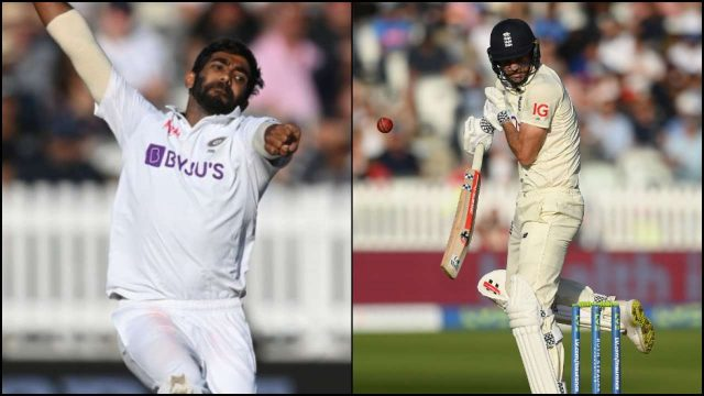 james andersom bumrah