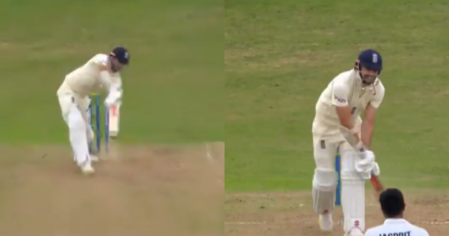 Jasprit Bumrah -James Anderson wicket