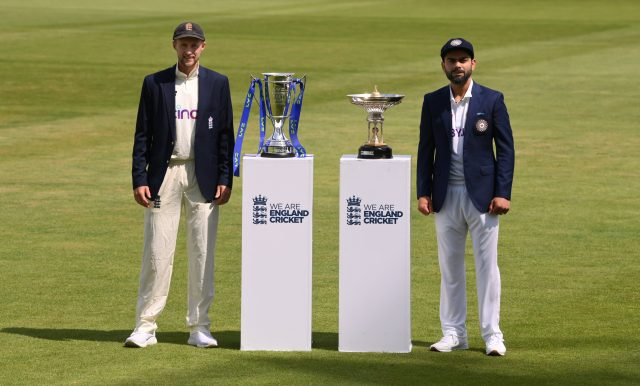 England vs India 2021