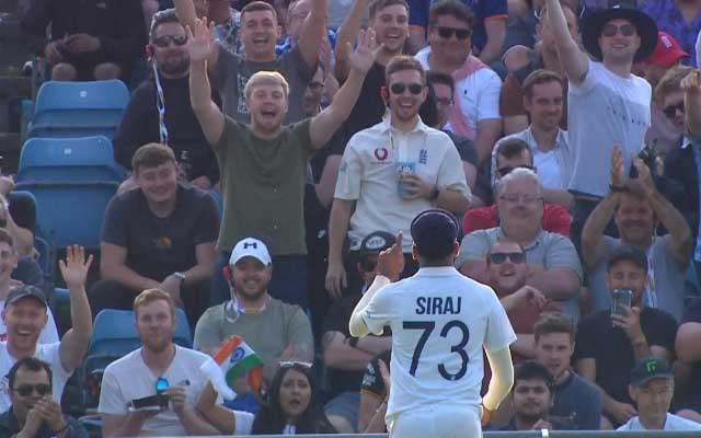 Mohammed Siraj Day 1 Headingley Test