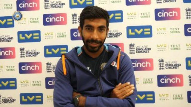Jasprit Bumrah PC Oval Test Win
