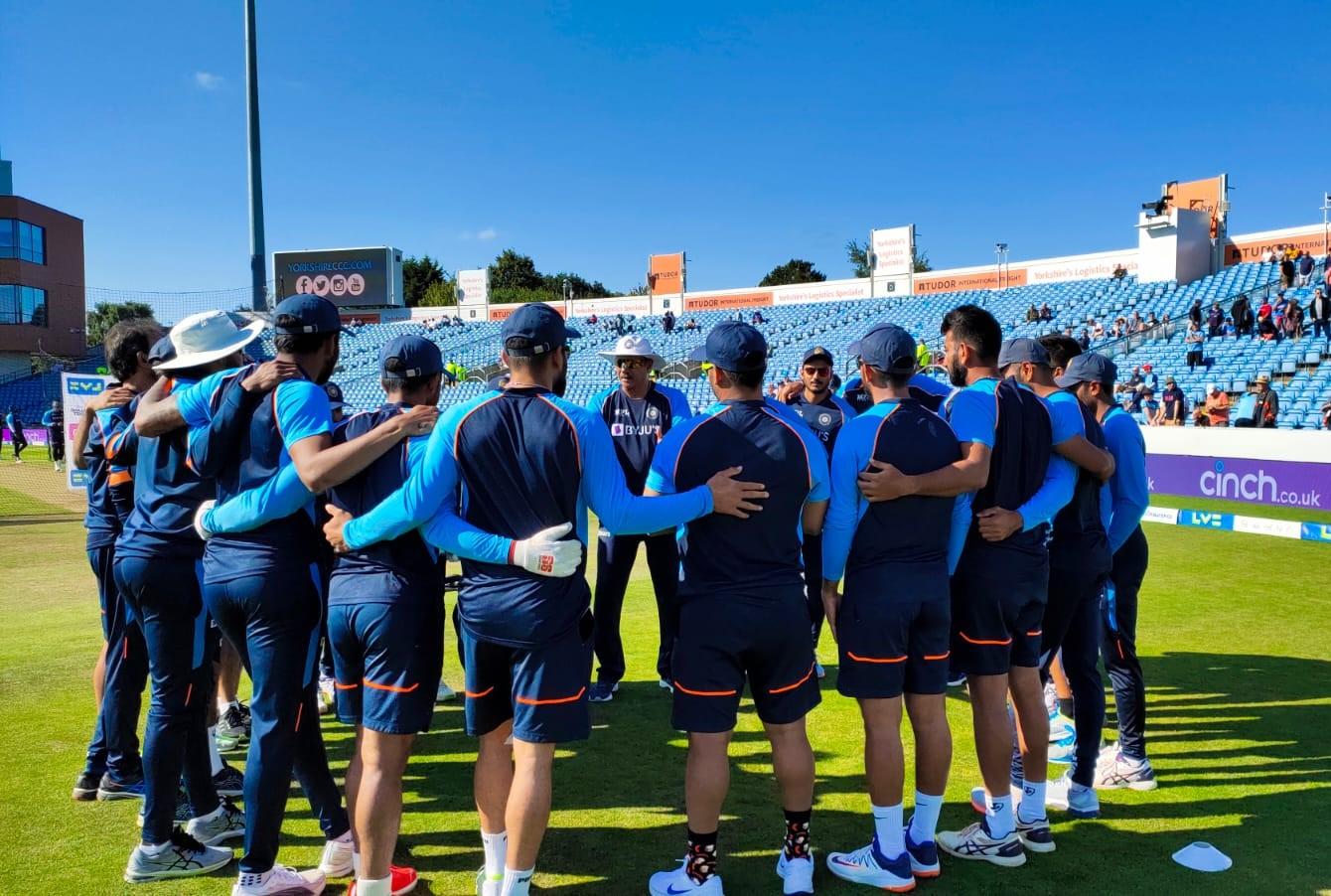 Team India Manchester test