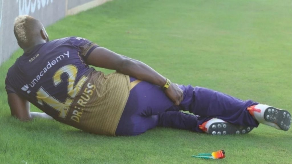 Andre Russell Injury