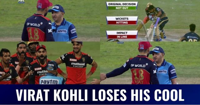 Virat Kohli-Umpire